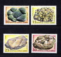 CYPRUS    1998     Minerals    Set  Of  4     MNH - Cyprus (Republic)