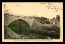 33 - BEAULAC-BERNOS - LE PONT DU CHEMIN DE FER SUR LE CIRON - Autres Communes