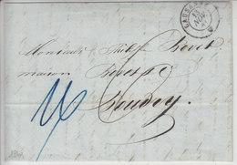 LETTRE DE 1841 POUR BOUDRY - - Switzerland