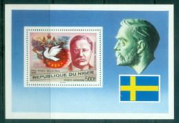 Niger 1977 Nobel Prize, Roosevelt MS MUH - Niger (1960-...)