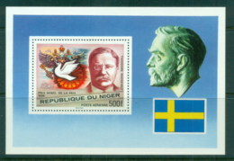 Niger 1977 Nobel Prize, Theodore Rosevelt MS MUH - Niger (1960-...)