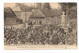 27 Piencourt, Inauguration Du Monument Aux Morts (A5p57) - Sonstige Gemeinden