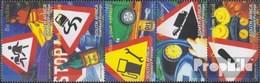 Afrique Du Sud 1548-1552 Bande De Cinq (complète.Edition.) Oblitéré 2004 Sécurité Dans Circulation Routière - Oblitérés