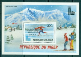 Niger 1980 Winter Olympics, Lake Placid MS MUH - Niger (1960-...)