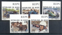 Niger 1981 Grand Prix 75th Anniv. Vintage Cars IMPERF MUH - Niger (1960-...)