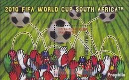 Afrique Du Sud Bloc 113 (complète.Edition.) Neuf Avec Gomme Originale 2007 Football WM - Afrique Du Sud (1961-...)