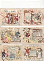 7 VERSCHILLENDE PRENTJES VAN HUNTLEY & PALMERS BISCUITS READING & LONDRES - Other