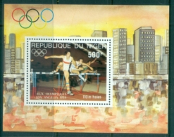 Niger 1984 Summer Olympics, Los Angeles MS MUH - Niger (1960-...)