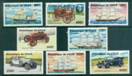 Niger 1984 Vintage Cars MUH - Niger (1960-...)