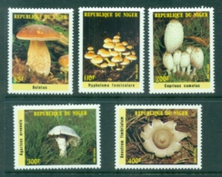 Niger 1985 Funghi, Mushrooms MUH - Niger (1960-...)