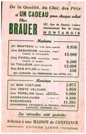 V Br/Buvard Vétements Brauer  (Format 13.5 X 21) (N= 2) - Textile & Clothing