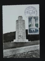 Carte Maximum Card Memorial De La Résistance Mont Mouchet Saint Flour 15 Cantal 1969 - Seconda Guerra Mondiale