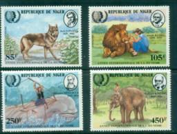 Niger 1985 IYY, Intl. Youth Year, Rudyard Kipling MUH - Niger (1960-...)