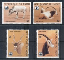 Niger 1985 WWF Desert Antelope MUH - Niger (1960-...)