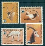 Niger 1985 WWF Desert Antelope MUH Lot64086 - Niger (1960-...)