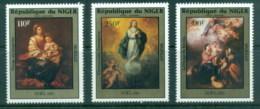 Niger 1985 Xmas, Paintings By Murillo MUH - Niger (1960-...)