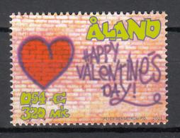 Aland Mi 190 Valentine,s Day Postfris M.n.h. - Aland