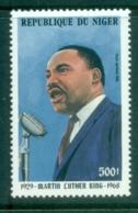 Niger 1986 Martin Luther King MUH - Niger (1960-...)