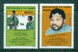 Niger 1986 Solidarity Day, Mandela MUH - Niger (1960-...)