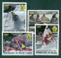 Niger 1988 Olympics, Pierre De Coubertin MUH - Niger (1960-...)