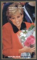 Niger 1997 Princess Diana In Memoriam IMPERF MS MUH - Niger (1960-...)