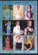 Niger 1997 Princess Diana In Memoriam MUH - Niger (1960-...)