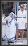 Niger 1997 Princess Diana In Memoriam, Mother Theresa IMPERF MS MUH - Niger (1960-...)