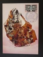 Carte Maximum Card Géologie Mine Mining Bourse Minéraux Fossiles Lyon 1984 - Minerals