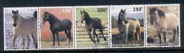 Niger 1998 Horses Str5 CTO - Niger (1960-...)