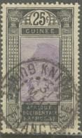 Guinée Française 1912-1944 - Knidia Sur N° 89 (YT) N° 83 (AM). Oblitération De 1932. Variante Kindia. - Used Stamps