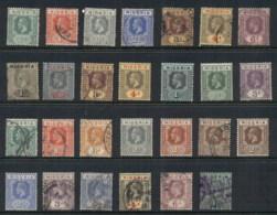 Nigeria 1914-33 KGV Portraits Assorted MLH/FU - Nigeria (1961-...)