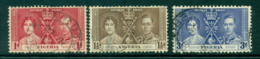 Nigeria 1937 Coronation FU Lot29279 - Nigeria (1961-...)