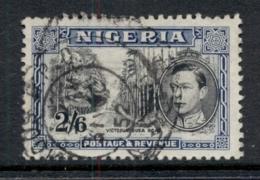 Nigeria 1938-51 KGVI Pictorial 2/6d Victoria-Buea Road Perf 12 FU - Nigeria (1961-...)