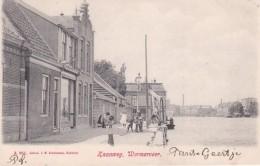 357580Wormerveer, Zaanweg (poststempel 1904) - Wormerveer