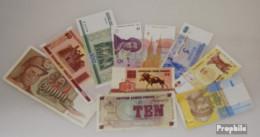 Europa 10 Verschiedene Banknoten - Billets