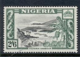 Nigeria 1953 QEII Pictorial 2/6d Victoria Harbour MLH - Nigeria (1961-...)
