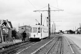 SNCV-Brabant. Zellik (Dorp). Cliché Jacques Bazin. 05-07-1956 - Trains
