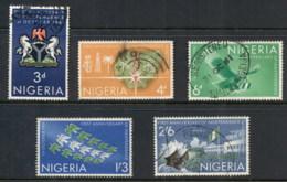 Nigeria 1961 Independence 1st Anniv MLH/FU - Nigeria (1961-...)