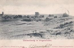 3575147Callantsoog In Vogelvlucht (poststempel 1903)(linksonder Een Kleine Vouw Zie Achterkant) - Pays-Bas
