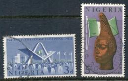 Nigeria 1962 Independence 2nd Anniv. FU - Nigeria (1961-...)