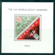 Nigeria 1963 Boy Scout Jamboree , Greece MS MUH - Nigeria (1961-...)