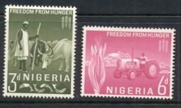 Nigeria 1963 FFH Freedom From Hunger MLH - Nigeria (1961-...)