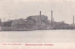 3575222Krommenie, Nouwenaarsche Vaart (poststempel 1906) (linksonder Diverse Vouwtjes) - Krommenie