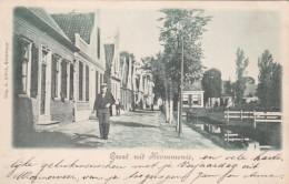3575230Krommenie, Groet Uit (poststempel 1900) - Krommenie