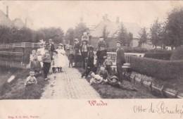 3575296Warder, (poststempel 1902)(rechts Boven Is De Achterkant Aan Het Los Laten, Links In Het Midden Een Vouw) - Nederland