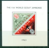 Nigeria 1963 World Scout Jamboree MS MUH - Nigeria (1961-...)