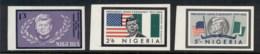 Nigeria 1964 JFK Kennedy IMPERF MLH - Nigeria (1961-...)