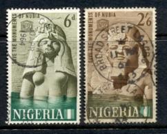 Nigeria 1964 UNESCO Campaign To Save Historic Monuments In Nubia FU - Nigeria (1961-...)