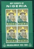 Nigeria 1965 Boy Scouts Of Nigeria MS MUH - Nigeria (1961-...)