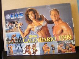 MONDOSORPRESA, (LB20) CALENDARIO 1999 MUSCLE & FITNESS - Calendars